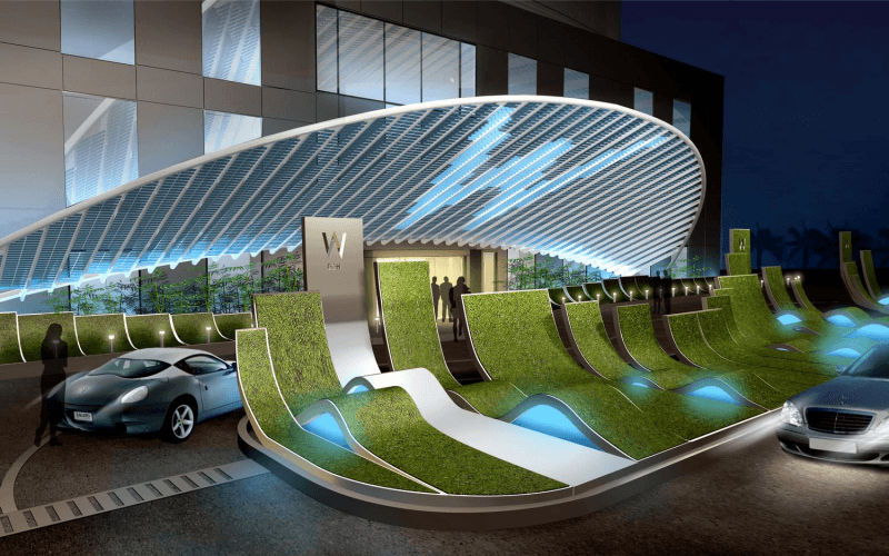W debuts in middle east with doha opening sleeper for Design hotel qatar