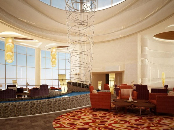 Kca international and creative international to design for Hispano international decor abu dhabi