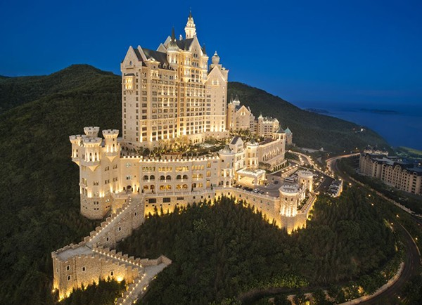 Starwood Hotels & Resorts debuts The Castle Hotel