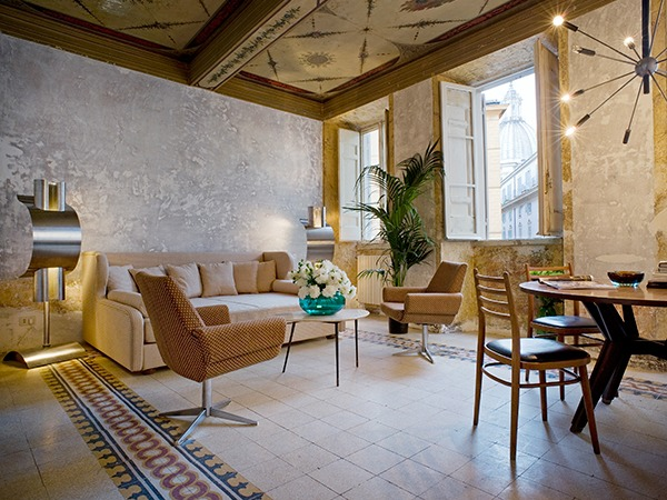 Ancient rome meets modern italy with g rough sleeper for Design hotel rom