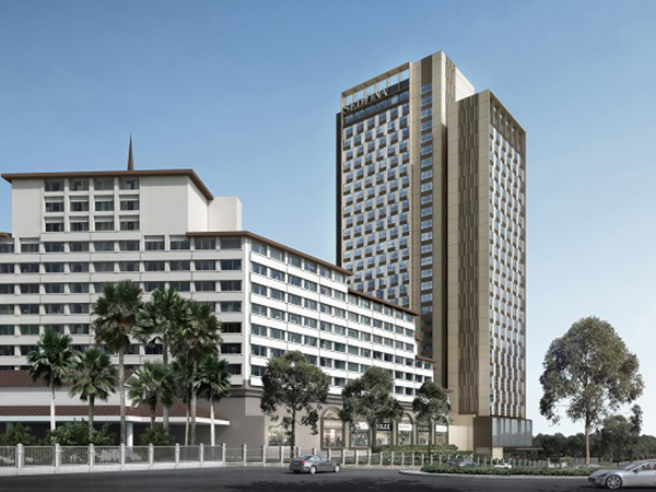 New wing for sedona hotel yangon sleeper for Design hotel yangon