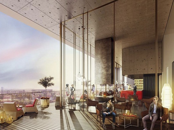 25hours to open in d sseldorf in 2018 sleeper for Design hotel chain