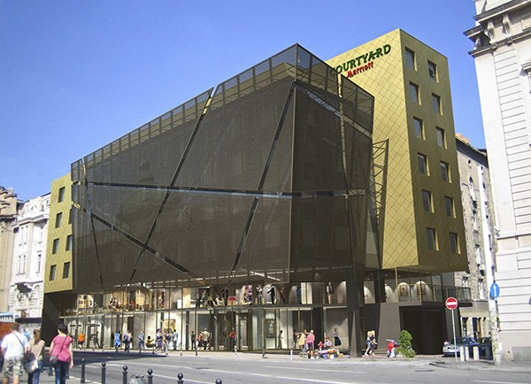 Marriott Belgrade Finished