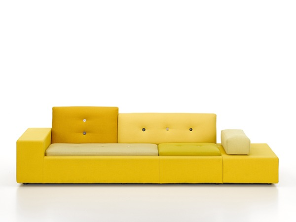 vitra updates the polder sofa sleeper. Black Bedroom Furniture Sets. Home Design Ideas