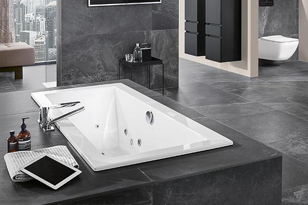 villeroy boch unveils whirlpools sleeper. Black Bedroom Furniture Sets. Home Design Ideas