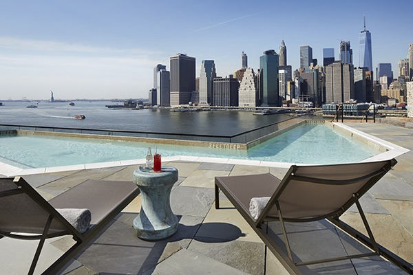 1 Hotels Has Announced The May 2017 Opening Date Of Its Flagship Brooklyn Bridge Property Hotel Featuring A Rooftop Swimming Pool And