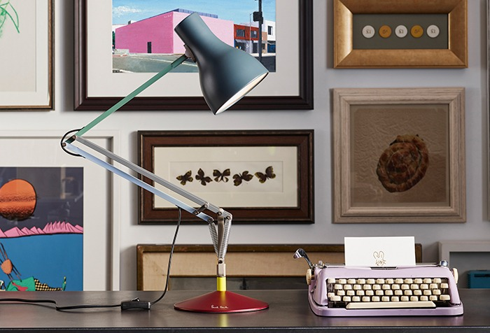 Anglepoise And Paul Smith Collaborate On Edition Four