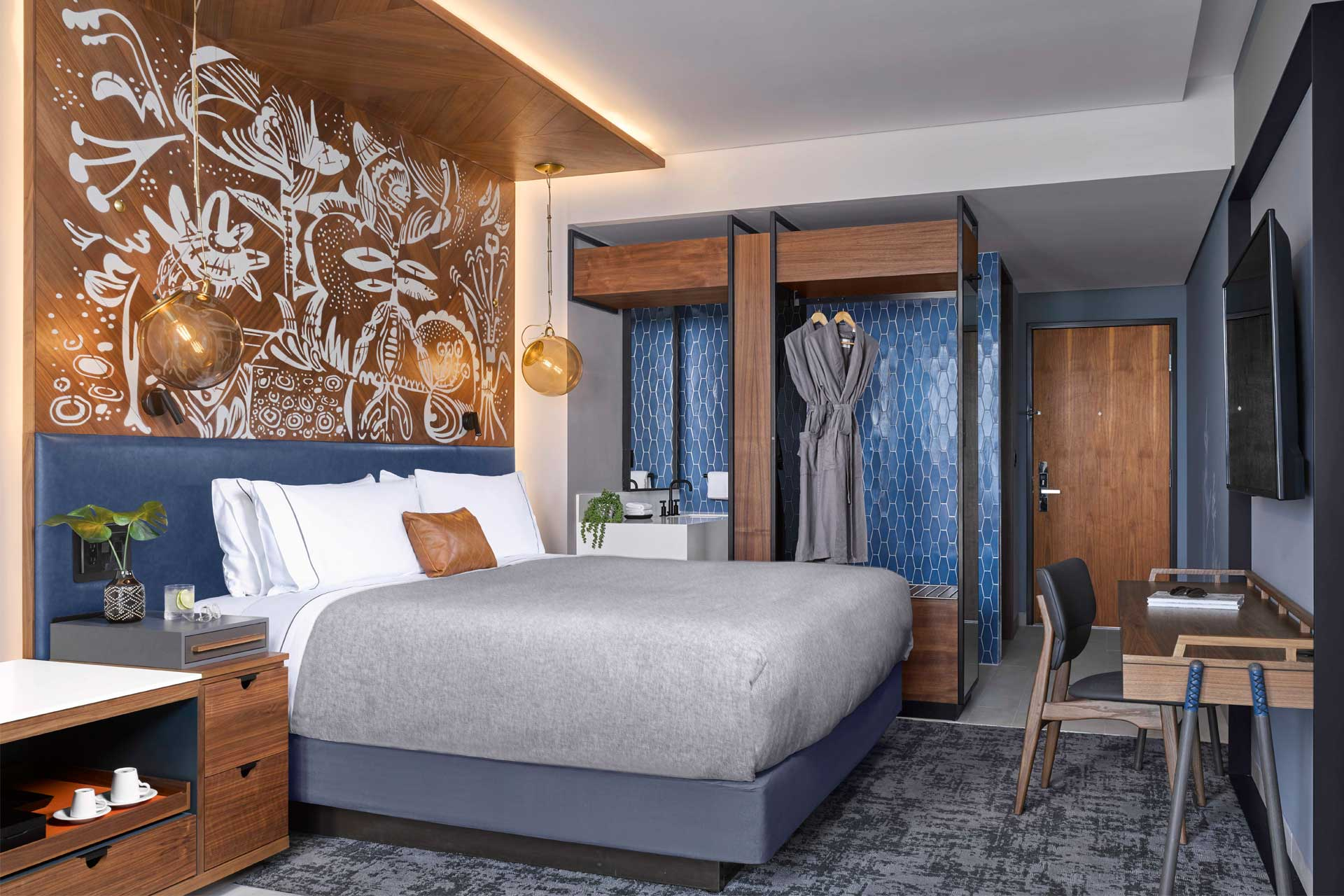 The guestrooms at Canopy by Hilton La Isla