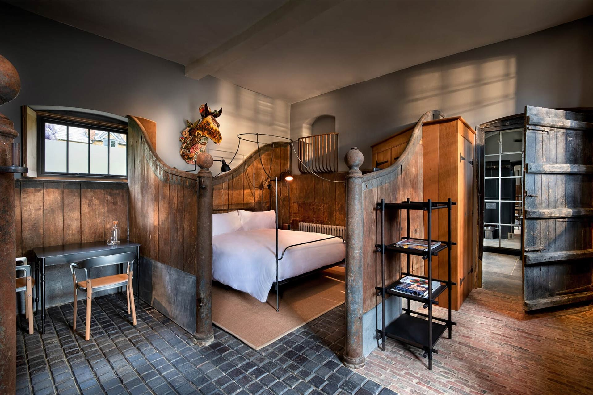 The Stable Room at The Newt in Somerset, England