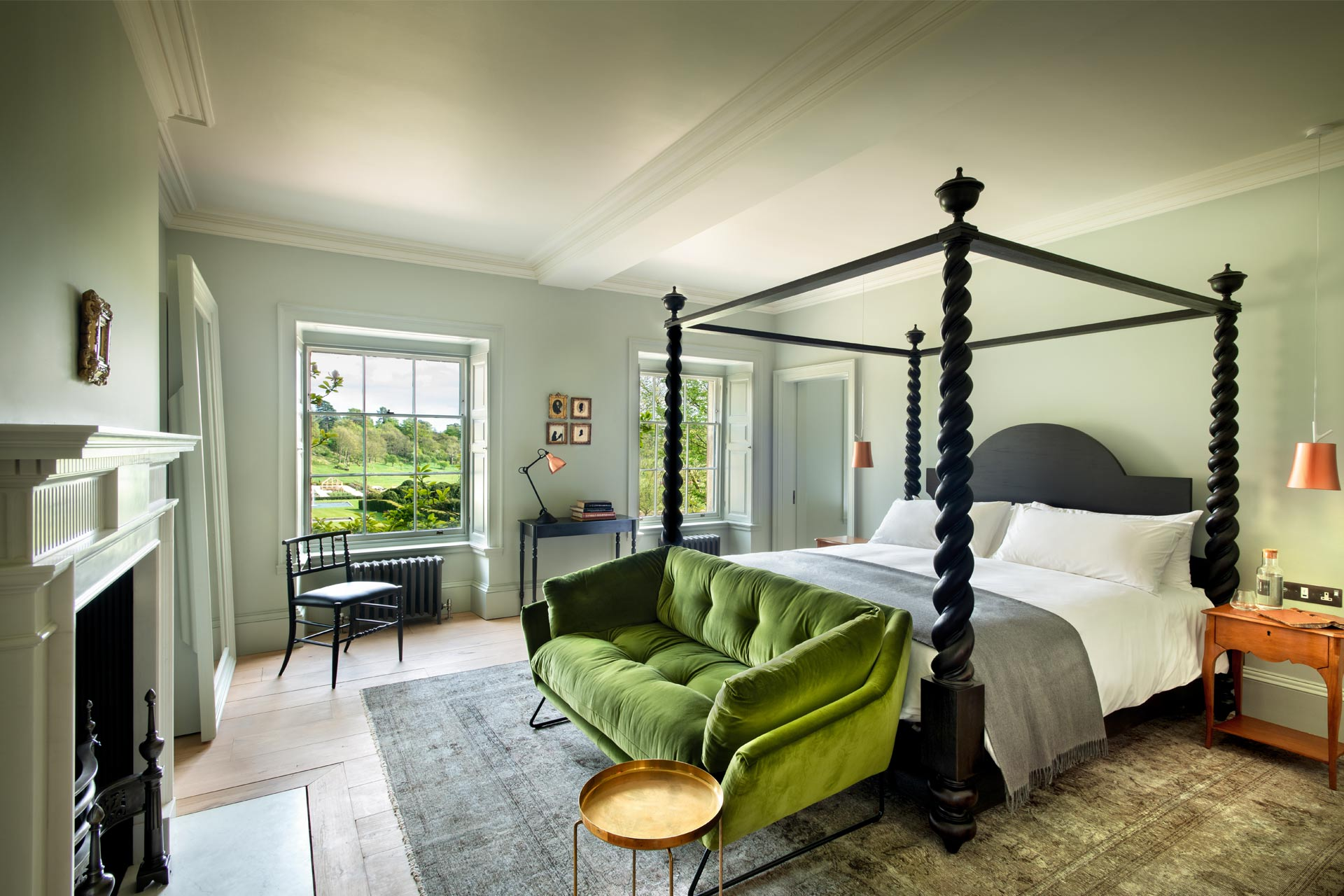 The Garden View Room at The Newt in Somerset, England