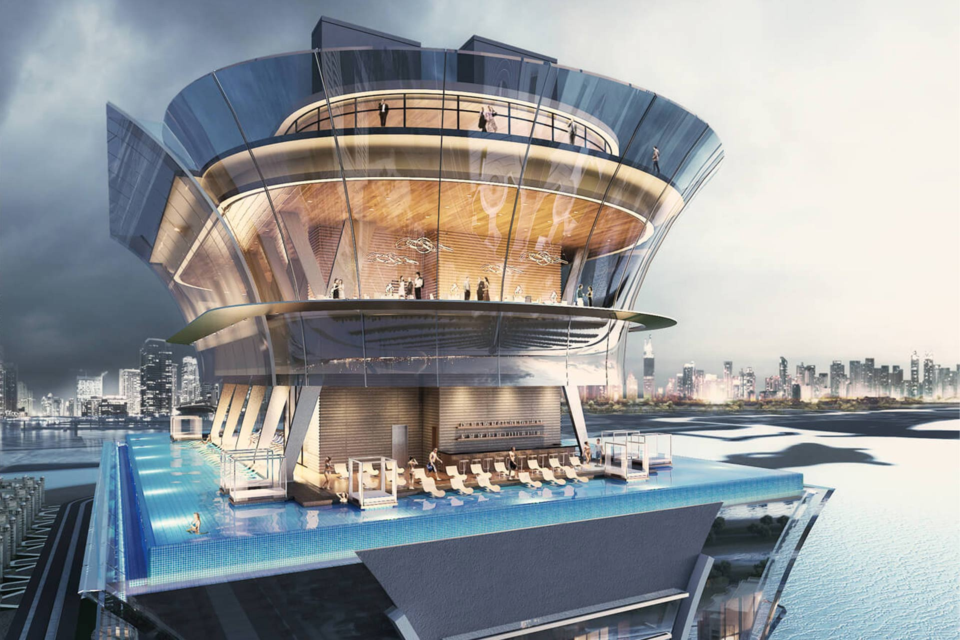 A rendering of St. Regis The Palm in Dubai