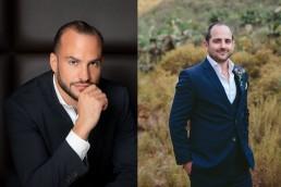 Ramsay Rankoussi and Daniel Trappler of Radisson Hotel Group