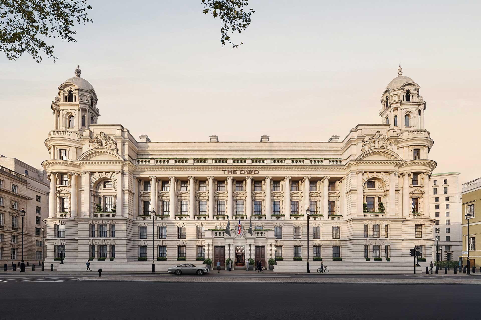 The Raffles Hotel in London