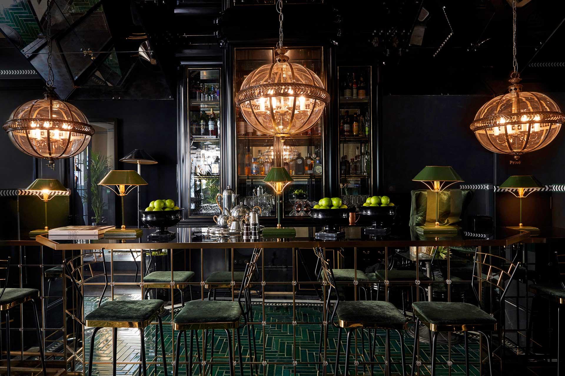 Galanga bar and restaurant at Monsieur George in Paris, France