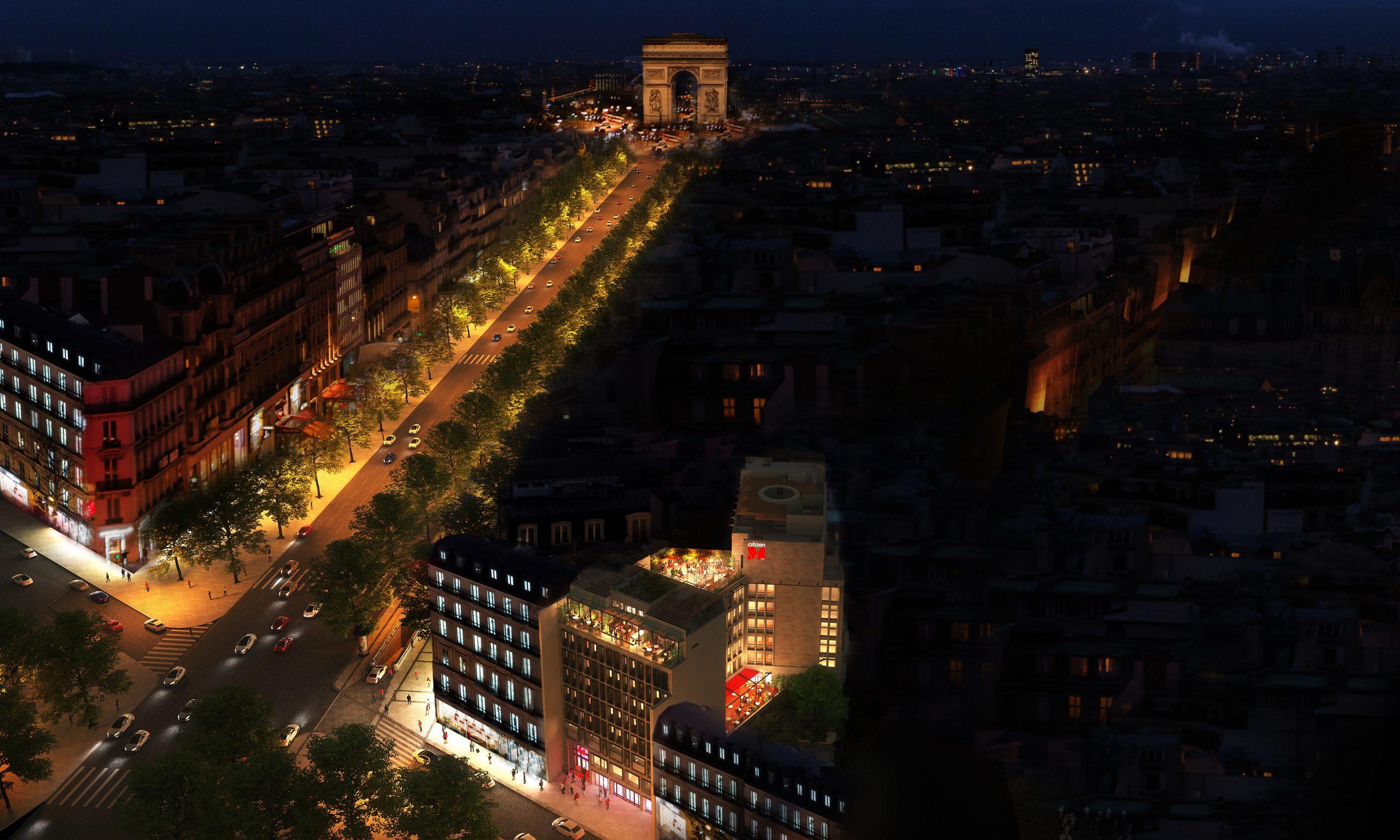 citizenM Paris Champs E