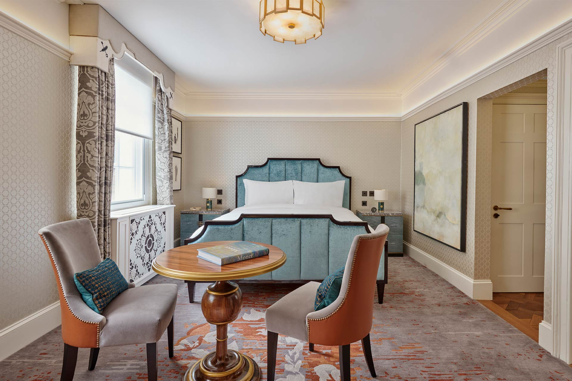 A bedroom at Great Scotland Yard Hotel's No.1 The Townhouse in London
