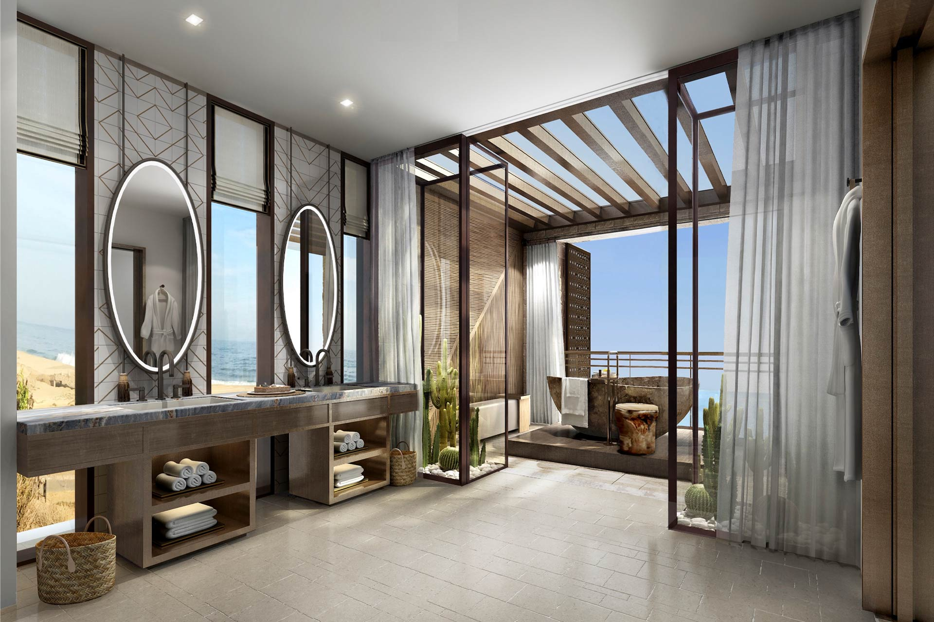 A rendering of The St. Regis Los Cabos in Mexico