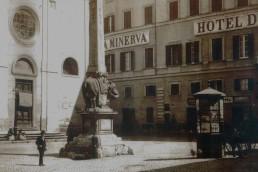 Piazza de la Minerva in Rome, Italy