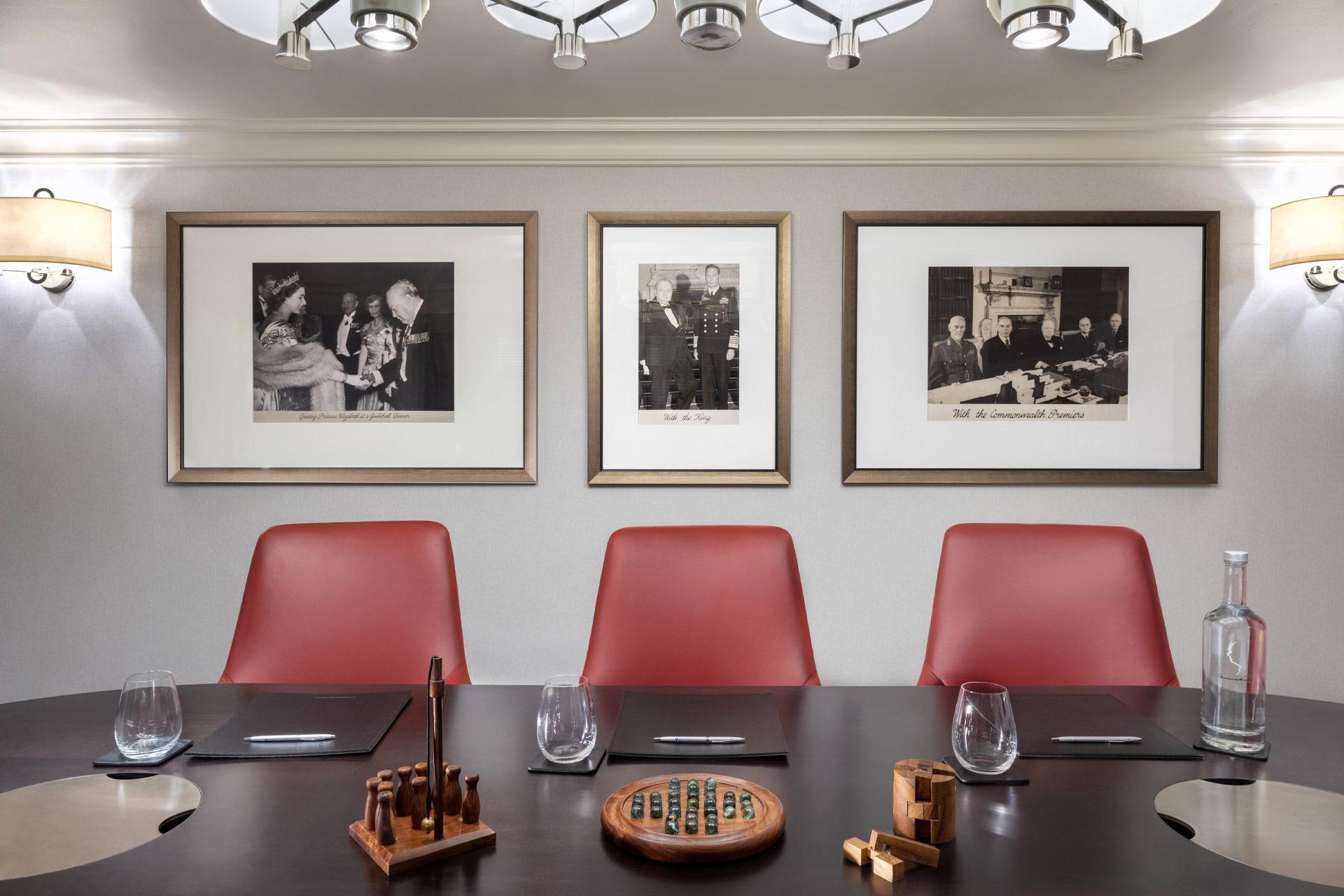The Boardrooms at Hyatt Regency London - The Churchill