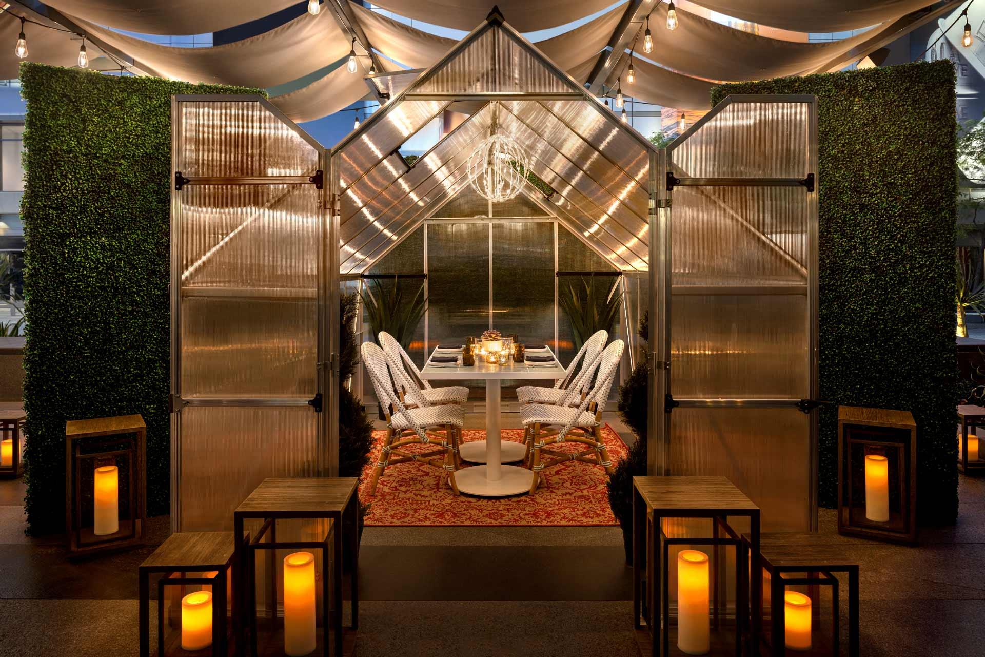 Savoca restaurant at JW Marriott Los Angeles LA Live