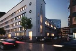 A rendering of Motto Rotterdam Blaak