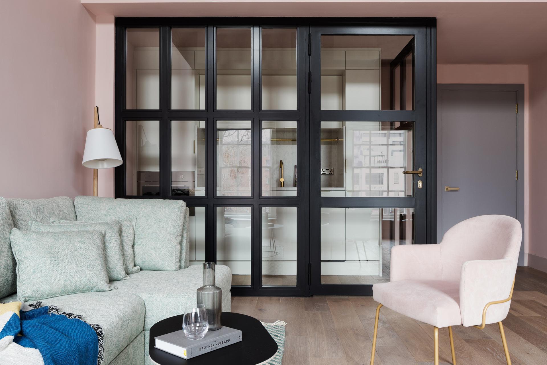 A studio apartment at Zanzibar Locke in Dublin