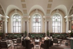 A rendering of The Old Bromley Town Hall in London
