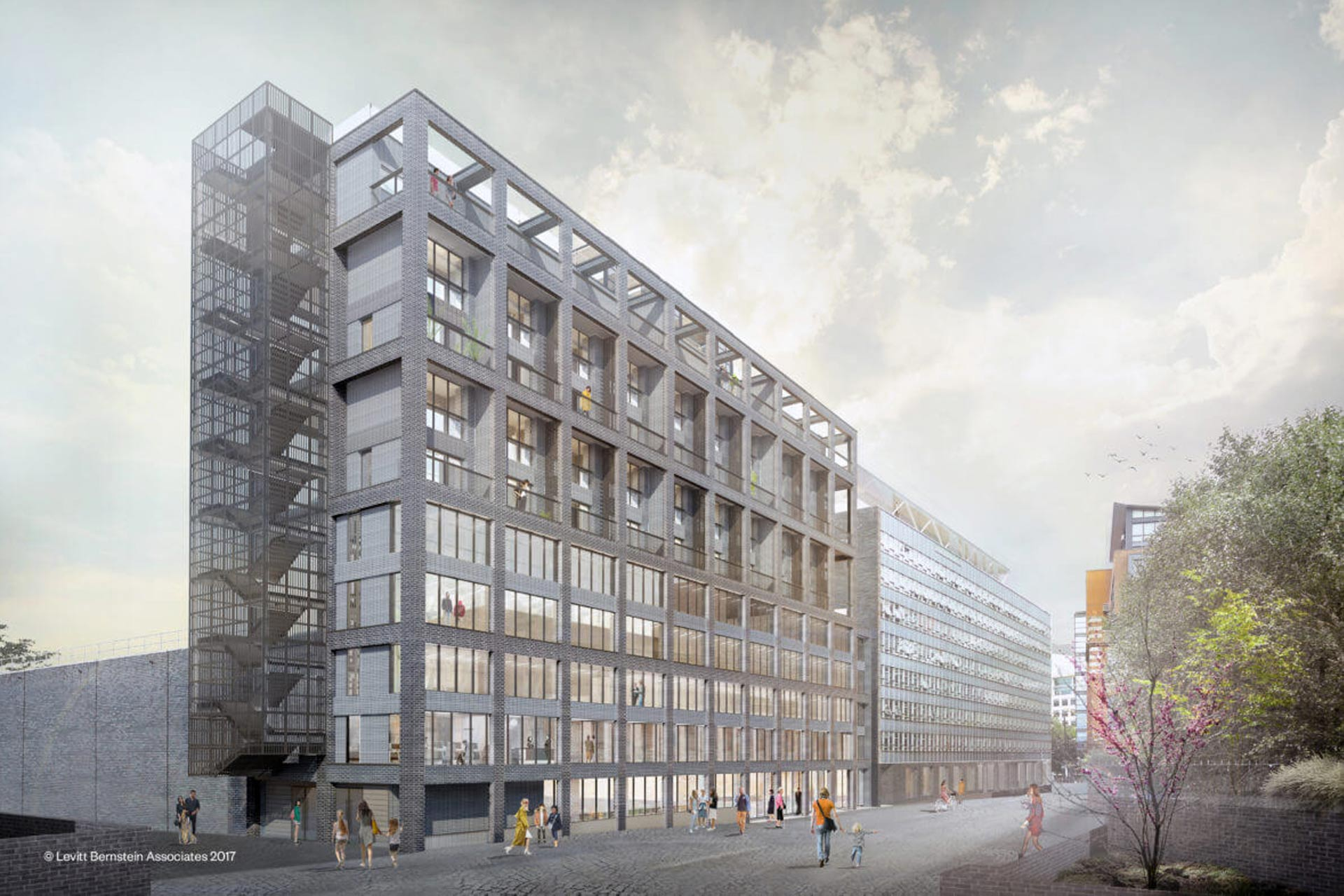 A rendering of the Old Granada Studios in Manchester