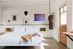 A bungalow at Hotel June Malibu in California